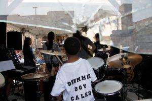 The Halls of Music Drum Student