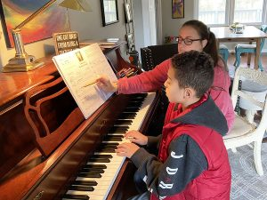 Piano Lessons at The Halls of Music
